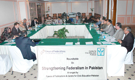Federalism program launched in Pakistan - Forum of Federations