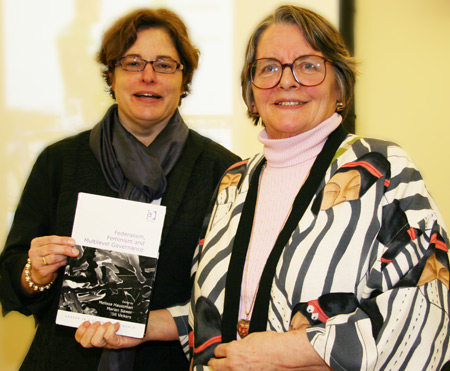 Ottawa professors discuss 'Federalism and Feminism' book at Forum event