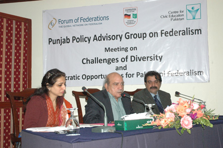 Challenges of Diversity and Democratic Opportunities for Pakistani Federalism