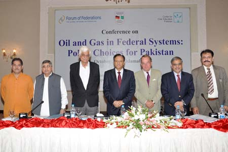Oil and Gas in Federal Systems: Policy Choices for Pakistan - Forum