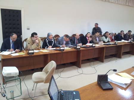 Photo: Participants during the roundtable event held on Dec 18, 2012