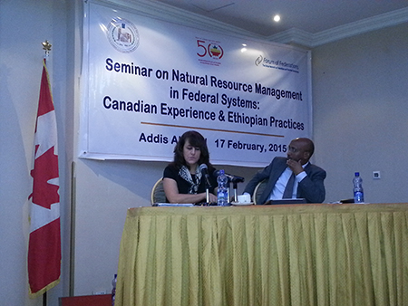 Opening presentation was made by Ms. Maureen Coulas from Natural Resources Canada