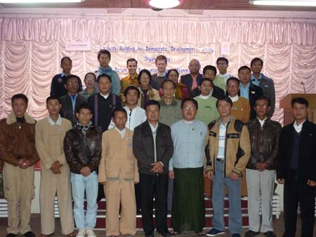 The workshops took place in Burma during the months of November 2012 – February 2013