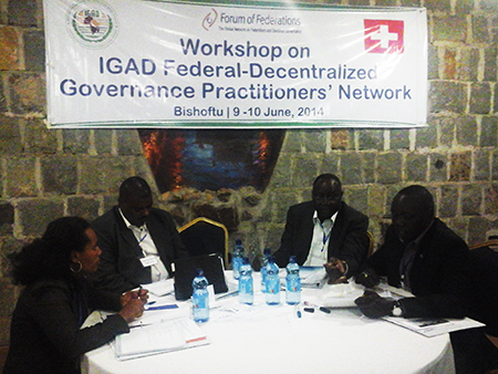 Members of the workshop held in Ethiopia on June 10-12, 2014.