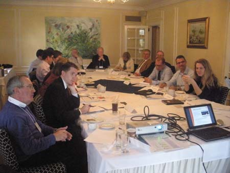 Photo: Members during the roundtable in Kingston, Ont. October 18-19, 2012
