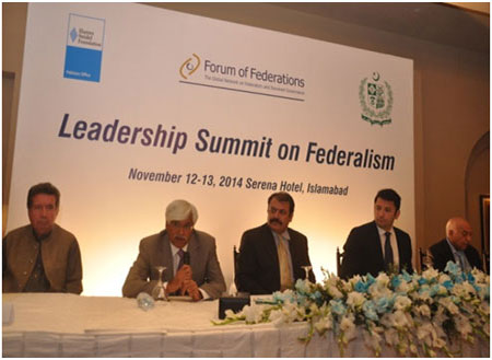 The Leadership Summit on Federalism brought together senior federal and provincial leaders from across Pakistan