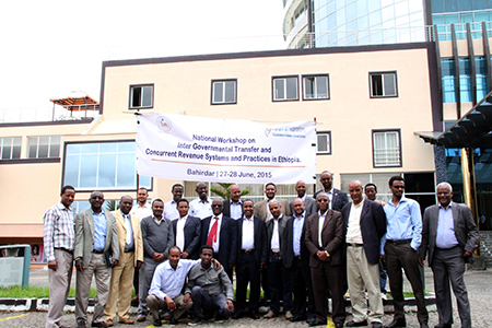 Members of the workshop held in Bahir-Dar, Ethiopia June 27-28, 2015.
