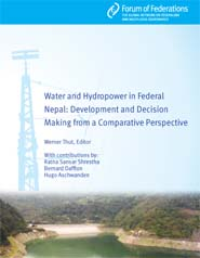 Water and Hydropower in a Federal Nepal Cover