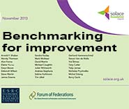 Benchmarking for Improvement – Solace Foundation Pamphlet Cover