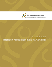 Report: Emergency Management in Federal Countries Cover