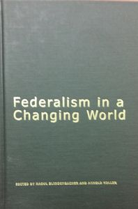 Federalism in a Changing World – A Conceptual Framework for the Conference Cover