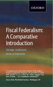 Fiscal Federalism: A Comparative Introduction Cover