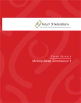 Metropolitan Governance: Report from the International Roundtable Cover