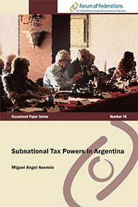 Subnational Tax Powers in Argentina Number 16 Cover