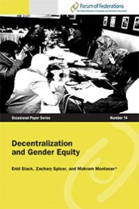 Decentralization and Gender Equity Number 14 Cover