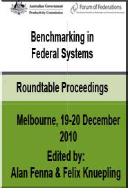 Benchmarking in Federal Systems Cover