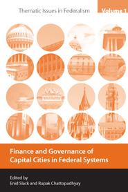 Finance and governance of capital cities in federal systems Cover