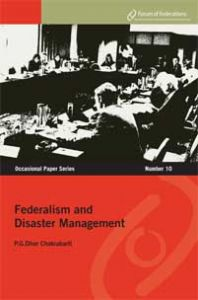 Federalism and Disaster Management Number 10 Cover