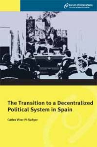 The Transition to a Decentralized Political System in Spain Number 4 Cover