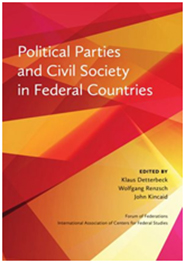 Political Parties and Civil Society in Federal Countries Cover