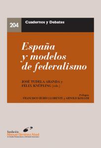 España y modelos de federalismo Cover