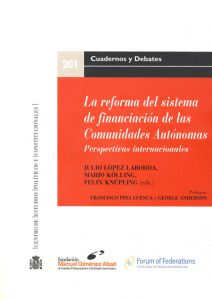 Spanish book on fiscal federalism Cover