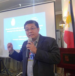 Mr. Benny Bacani, Executive Director of the Institute for Autonomy and Governance