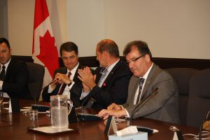 During the session on Parliament Hill