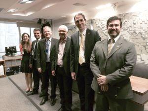 Representatives of the Brazilian Senate