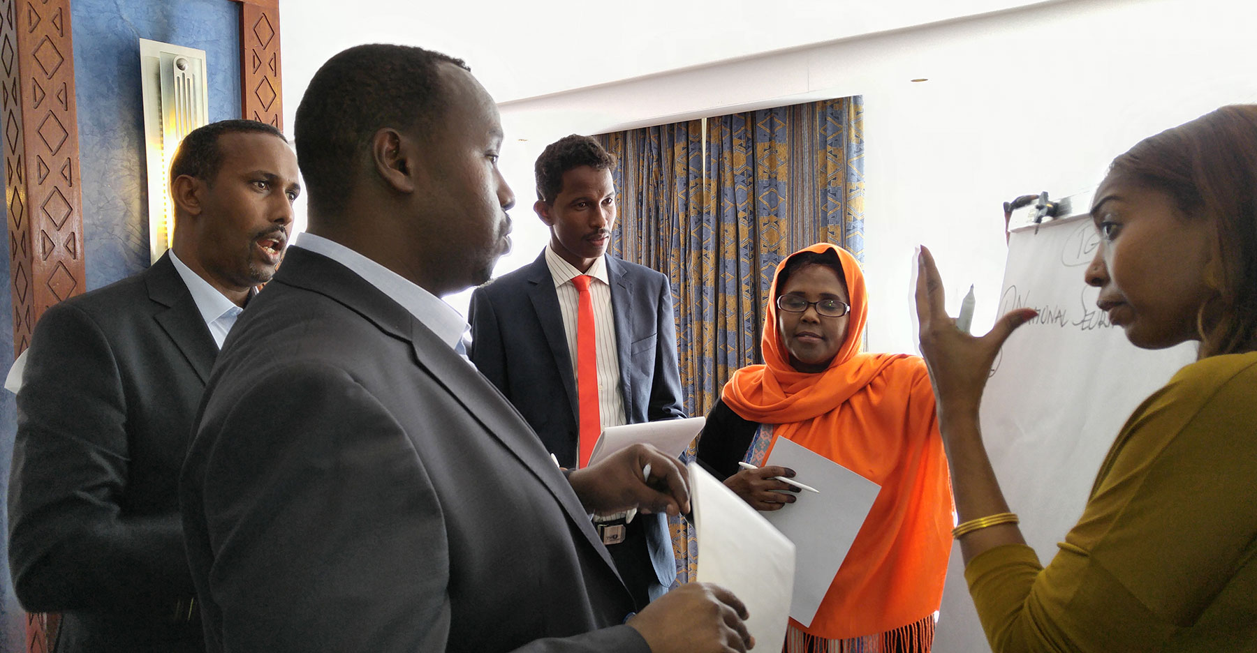 CDI are working with the Forum of Federations and the Somali Youth Development Network (SOYDEN)