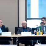 (L-R) Henrik Scheller, Werner Reutter, Rene GeiBler