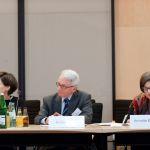 (L-R) Anna Gamper, Rudolf Hrbek, Annette E. Toller