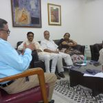 Faiz Kidwai (Director of the Madhya Pradesh State Civil Supplies Corporation Limited), Vini Mahajan (Additional Chief Secretary Health and family welfare Punjab), Alok Mukhopadhyay (Chairman, Voluntary Health Association of India), Ravi Dhingra (Forum of Federations, Country Head), K Sujatha Rao (former Secretary of Health and Family Welfare, Government of India), Rajani Vaid.