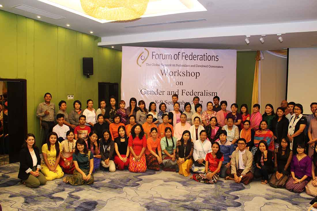 Participants of the Gender Equality Workshop