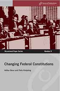 Changing Federal Constitutions Number 8 Cover