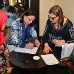 16 femmes actives dans la société civile ont bénéficié d'une formation sur le leadership transformationnel, avec Afef El Jadri experte formatrice en leadership féminin.