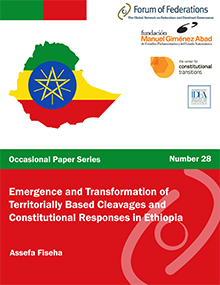 Emergence and Transformation of Territorially Based Cleavages and Constitutional Responses in Ethiopia. Number 28 Cover