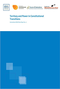 Federalism and other forms of territorial sharing of power are key to solving most of the world's violent conflicts. Cover