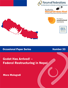 Godot Has Arrived-Federal Restructuring in Nepal: Number 33 Cover
