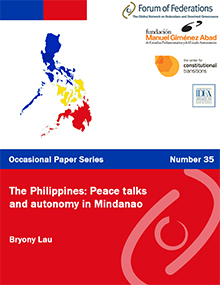 The Philippines: Peace talks and autonomy in Mindanao: Number 35 Cover