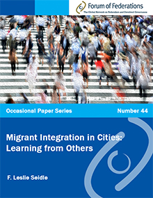 Migrant Integration in Cities: Learning from Others: Number 44 Cover