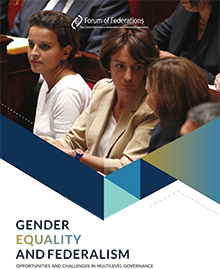 GENDER EQUALITY AND FEDERALISM Cover