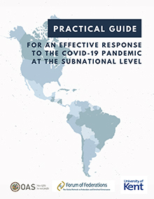 Practical Guide for an Effective Response to the COVID-19 Pandemic at the Subnational Level Cover