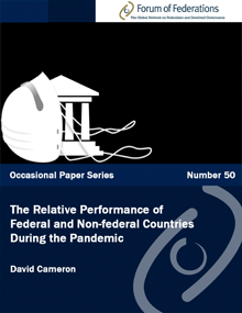 The Relative Performance of Federal and Non-federal Countries During the Pandemic: Number 50 Cover