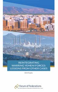 Reintegrating Warning Yemeni Forces: Lessons From Other Cases Cover